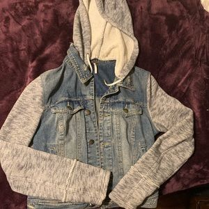 Small FreePeople Denim/Fabric Jacket